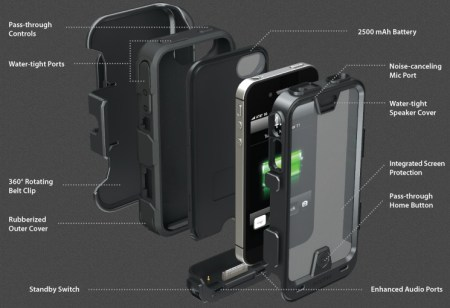 Mophie juice pack PRO Rugged iPhone Battery Case details