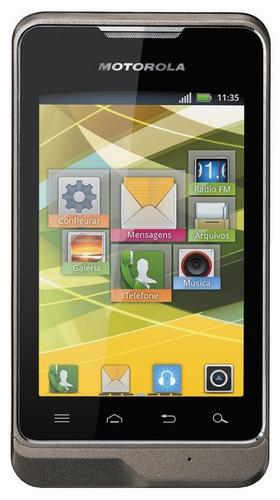 Motorola MOTOSMART Dual-SIM Android Smartphone front