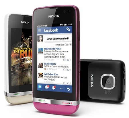 Nokia Asha 311 touchscreen phone