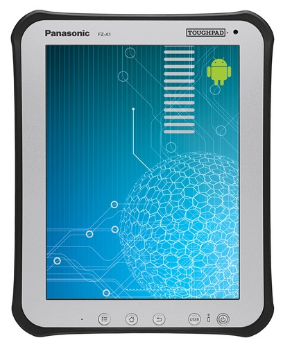 Panasonic Toughpad A1 Rugged Business Android 4.0 Tablet front