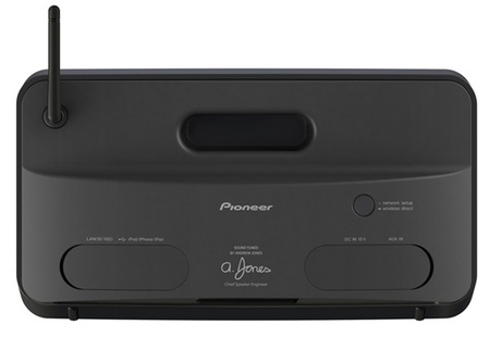 Pioneer XW-SMA1 XW-SMA3 Wireless Music Systems with AirPlay and HTC Connect back