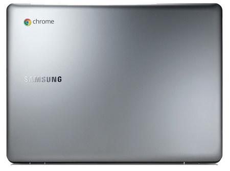 Samsung Series 5 Chromebook 550 laptop lid