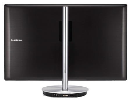 Samsung Series 9 27-inch Monitor with 2560x1440 Resolution back