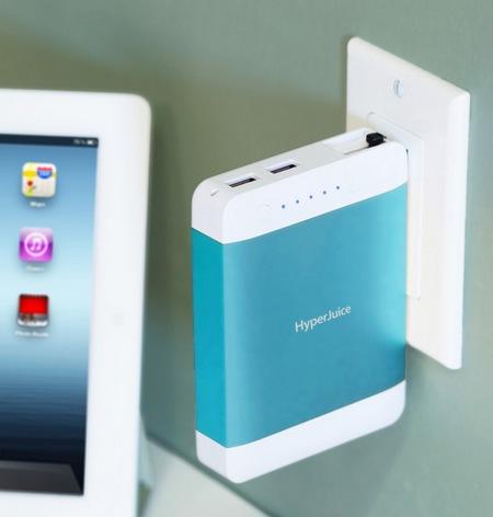 Sanho HyperJuice Plug P10 High-capacity Portable Battery blue