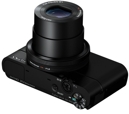 Sony Cyber-shot DSC-RX100 Compact Camera with Large Sensor lens