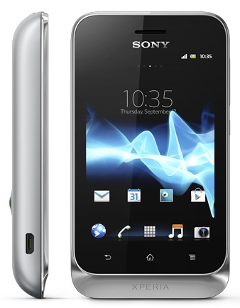 Sony Xperia tipodual Entry-level dual-sim Android Phone silver