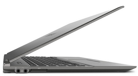 Toshiba Portege Z935 is the World's Lightest 13.3-inch Ultrabook side