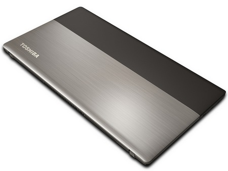 Toshiba Satellite U845W Ultrabook with a 21-9 Ultrawide Cinematic Display lid