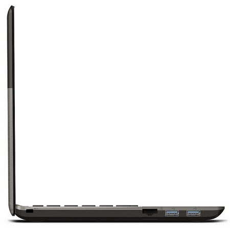 Toshiba Satellite U845W Ultrabook with a 21-9 Ultrawide Cinematic Display side