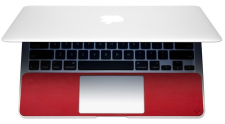 Twelve South SurfacePad for Air Leather Cover MacBook Air overhead