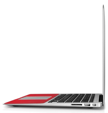 Twelve South SurfacePad for Air Leather Cover MacBook Air side