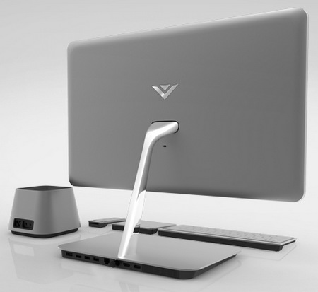Vizio All-in-one PC gets Ivy Bridge back angle