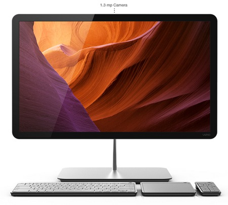 Vizio All-in-one PC gets Ivy Bridge front