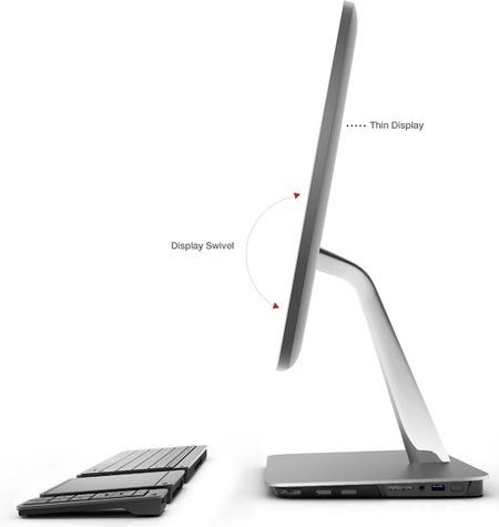Vizio All-in-one PC gets Ivy Bridge side