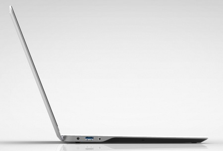 Vizio Thin + Light Ultrabooks comes in 14-inch and 15.6-inch side