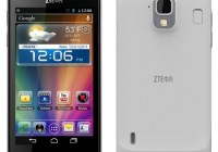 ZTE Grand X LTE Single-chip LED Smartphone