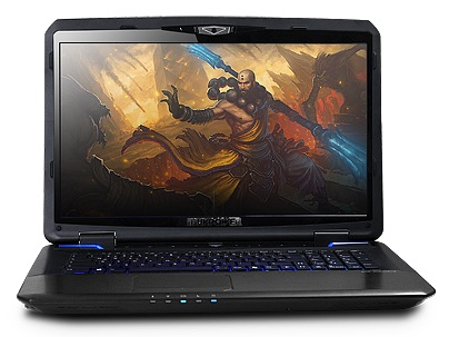 iBuyPower Valkyrie CZ-17 Gaming Notebooks front