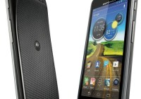 AT&T Motorola Atrix HD LTE Smartphone black back