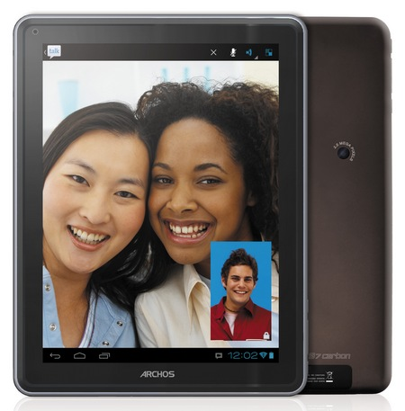 Archos ELEMENTS 97 Carbon Android Tablet front