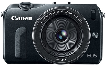 Canon EOS M Mirrorless Interchangeable Lens Camera front
