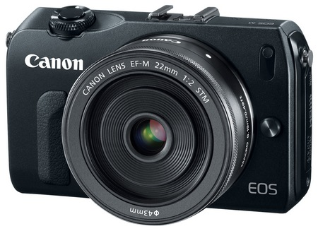 Canon EOS M Mirrorless Interchangeable Lens Camera