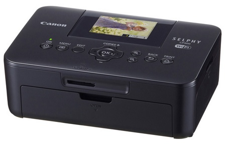 Canon SELPHY CP900 Compact Photo Printer with WiFi black
