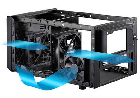 Cooler Master Elite 120 Advanced Mini ITX Case ventilation