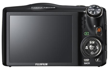 FujiFilm FinePix F800EXR 20x Zoom Camera with WiFi back