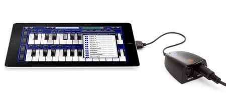 Griffin MIDIConnect MIDI Interface for iOS Device output