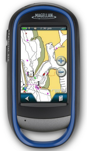 Magellan eXplorist 510 Marine Edition GPS Device for Boaters