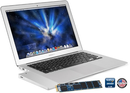 OWC Mercury Aura Pro + Envoy SSD Upgrade Kit for MacBook Air