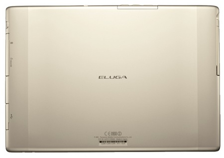 Panasonic Eluga Live 10.1-inch Android 4.0 Tablet back