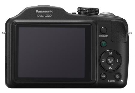 Panasonic Lumix DMC-LZ20 21x Zoom Camera back