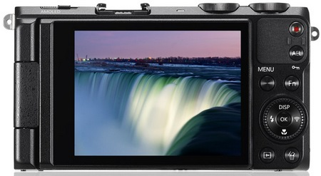 Samsung EX2F WiFi Smart Digital Camera back