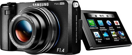 Samsung EX2F WiFi Smart Digital Camera