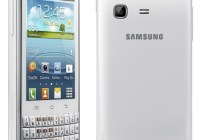 Samsung Galaxy Chat QWERTY Android Phone back