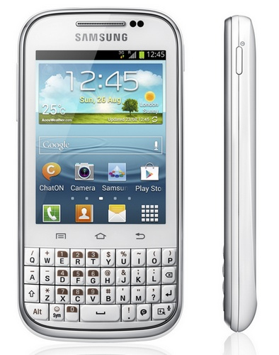 Samsung Galaxy Chat QWERTY Android Phone side