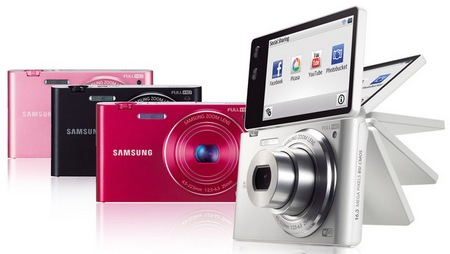 Samsung MultiView MV900F Digital Camera with WiFi colors
