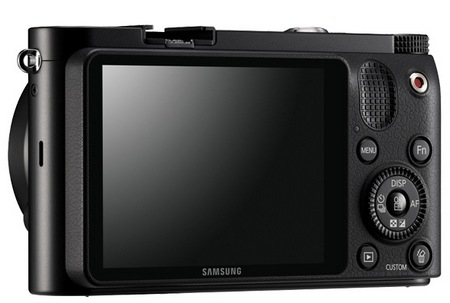 Samsung NX1000 SMART Mirrorless Camera black back