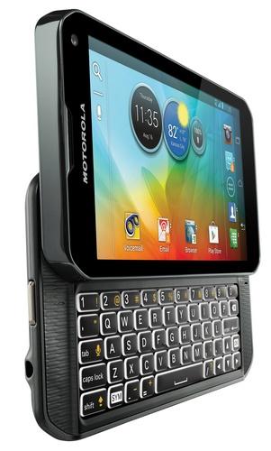 Sprint Motorola PHOTON Q 4G LTE QWERTY Smartpone angle left