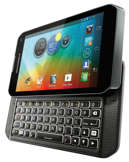 Sprint Motorola PHOTON Q 4G LTE QWERTY Smartpone angle