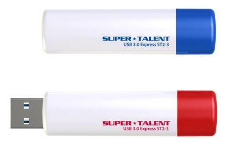 Super Talent USB 3.0 Express ST2-3 USB 3.0 Flash Drive
