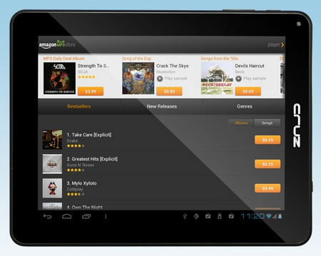 Velocity Micro Cruz T508 Android 4.0 Tablet landscape