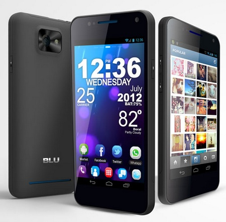 BLU Products VIVO 4.3 Dual-SIM Smartphone with Super AMOLED Plus 2