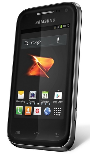 Boost Mobile Samsung Galaxy Rush Entry-level Android Phone