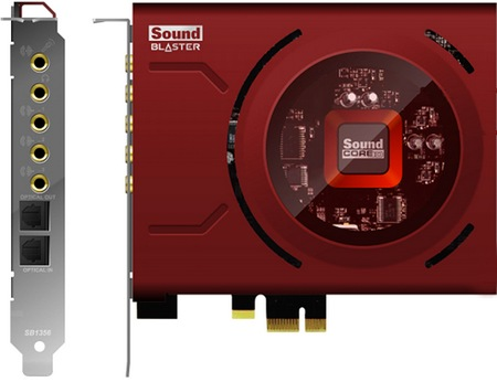 Creative Sound Blaster Zx and Z PCI Express Sound Card