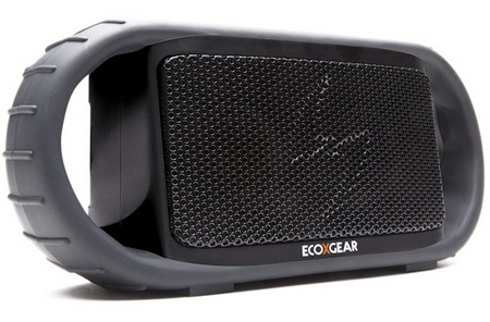 ECOXGEAR ECOXBT Waterproof Bluetooth Speaker angle
