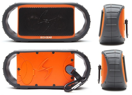 ECOXGEAR ECOXBT Waterproof Bluetooth Speaker sides