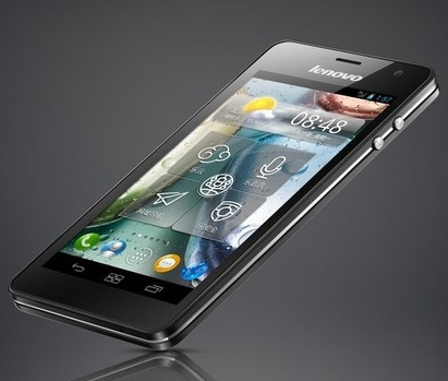 Lenovo LePhone K860 Quad-core Smartphone with 5-inch Screen angle