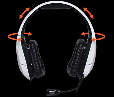 Mad Catz TRITTON 720+ 7.1 Surround Headset with Dolby Headphones Technology headrail